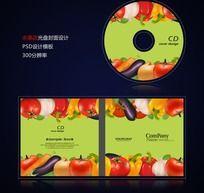 水果店宣传光盘封面设计psd