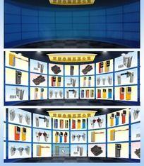 產品展示(AS3+XML,含舞臺PSD)