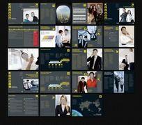 外企商务手册版式图片