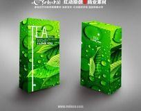 绿色茶叶包装设计
