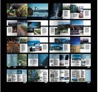 现代旅游自然景观画册