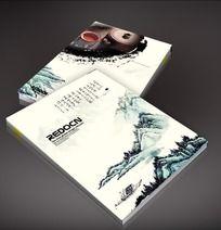 中国风山水背景封面