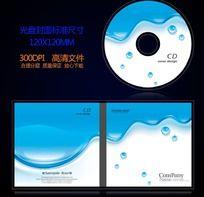 蓝色科技IT数码光盘封面设计
