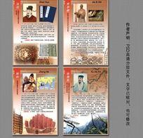 中国古代科学家简介展板