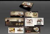韩式餐厅画册设计
