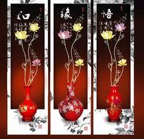 中国古典荷花装饰画