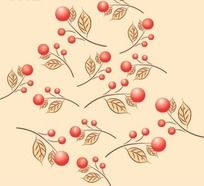 植物花纹背景