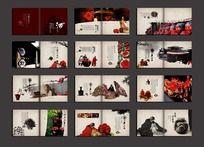 中国风白酒画册设计