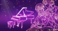 紫色唯美Flash电子请柬结婚请帖