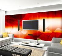 现代风客厅电视背景墙