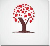 Y字母树型标志