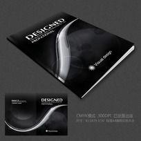 黑色创意广告画册封面设计