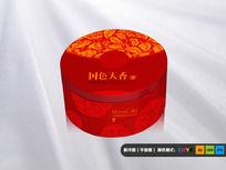 圆形月饼盒设计