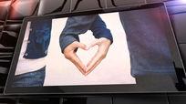 质感平板电脑爱情个人相册AE模板含音乐