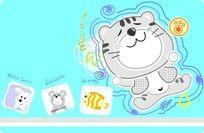 卡通小猫图案