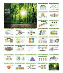 绿色环保PPT动画