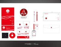红色VI应用设计