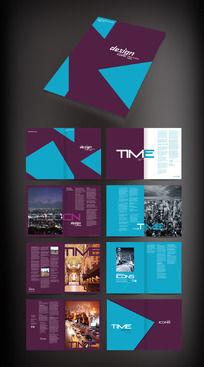 建筑画册板式设计