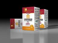 药品保健品包装设计矢量素材模板