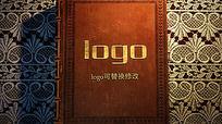 创意书本翻页logo标志演绎
