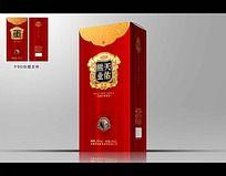 低档洋酒包装设计