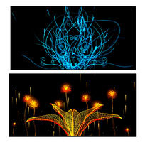 晚会背景舞蹈演出LED屏动态视频