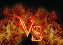 火爆VS创意字体