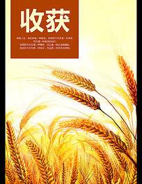 小麦收获企业文化展板