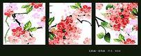 植物花卉装饰画无框画