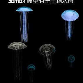 海洋生物水母3D模型 3dm