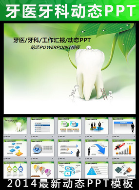 牙科牙齿口腔健康卫生PPT