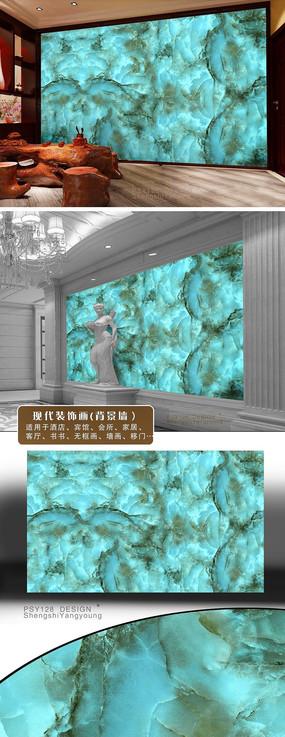 天然大理石背景墙设计