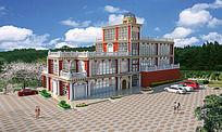 高级私宅3D模型(草图大师)