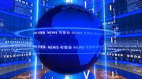 新闻联播节目片头AE模板
