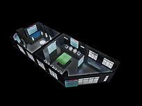 绿地印象销售中心展示3D模型