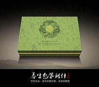 传统养生食品包装盒