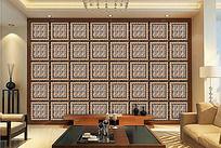 精细分层现代风格大理石瓷砖背景墙
