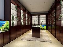 商业展柜3d模型