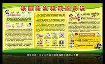 预防传染病知识宣传栏