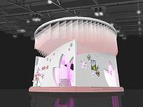 浪漫一生展厅模型
