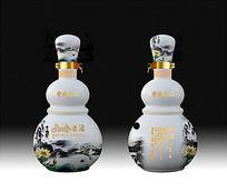 陶瓷酒瓶设计