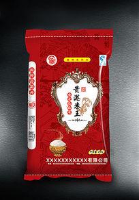 贵港米王大米袋设计