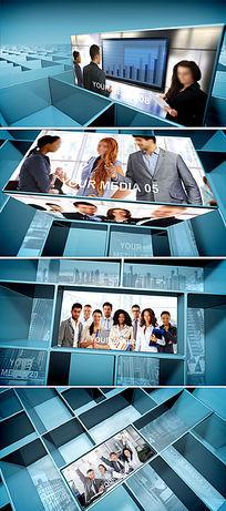 企业宣传片通用开场ae视频模板
