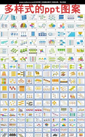 创意PPT图表打包下载