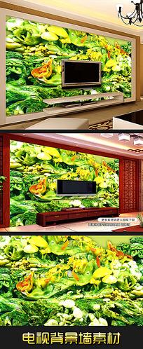 高清玉雕壁画电视背景墙设计图