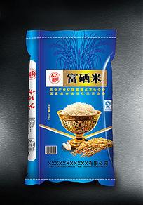 富硒米包装袋子素材