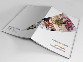 婚纱影楼宣传册封面设计