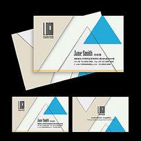 建筑装饰公司名片设计