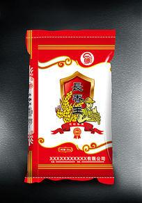 长香王大米袋子包装