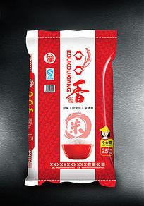口口香10kg大米袋